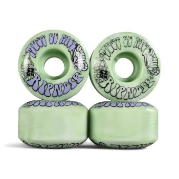 RIPNDIP Think Factory 52mm Skateboard Wheels - Mint
