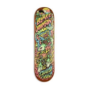 "Santa Cruz Johnson Beach Wolf Two 8.375"" Skateboard Deck"