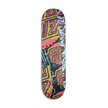 "Santa Cruz No Pattern Dot 8"" Everslick Skateboard Deck"