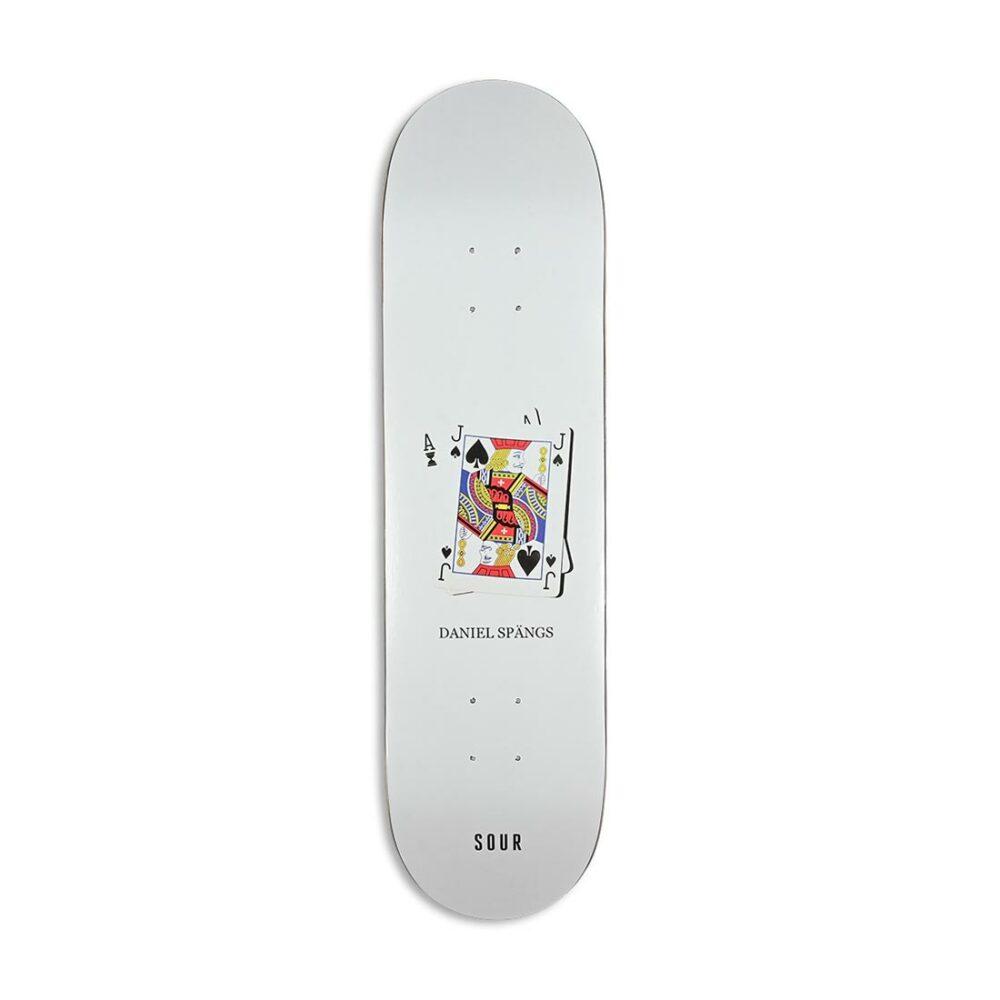 Sour Solution Spangs 'Twenty One' Skateboard Deck