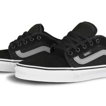 Vans Chukka Low Sidestripe Skate Shoes - Black