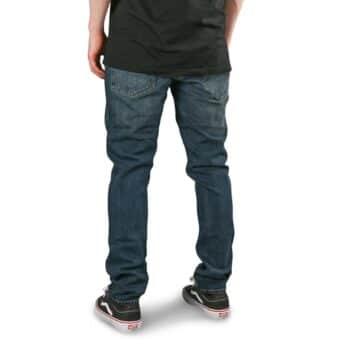 Volcom 2x4 Denim Jeans - Medium Blue Wash