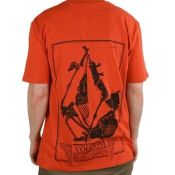 Volcom Bone Section BSC S/S T-Shirt - Burnt Ochre