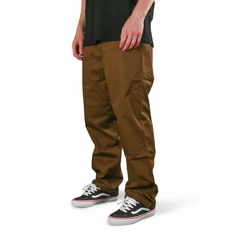 Volcom Frickin Skate Chino Pants - Vintage Brown