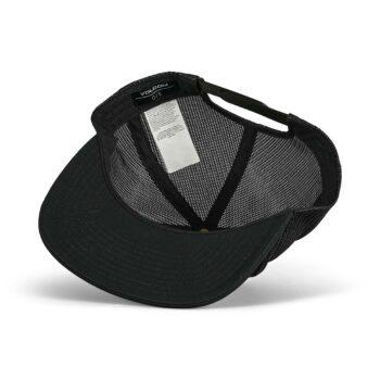 Volcom Full Stone Cheese Mesh Back Cap - Black
