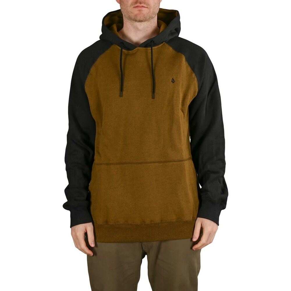 Volcom Homak Pullover Hoodie (AW21) - Golden Brown