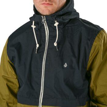 Volcom Howard Hooded Jacket - Navy