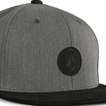 Volcom Quarter Fabric Snapback Cap - Castlerock