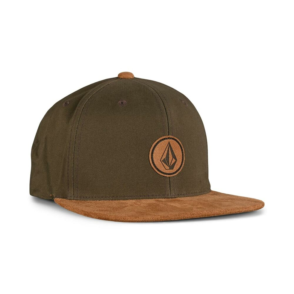 Volcom Quarter Fabric Snapback Cap - Wren