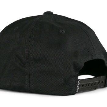 Volcom Quarter Twill Snapback Cap - Black