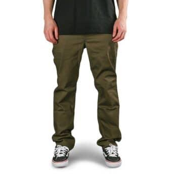Volcom Solver 5 Pocket Slub Jeans - Tarmac Brown