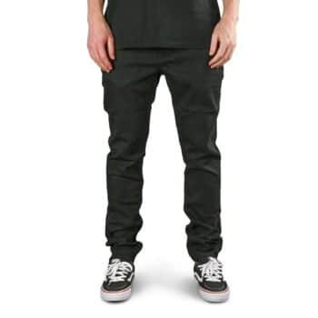 Volcom Solver Tapered Denim Jeans - Blackout