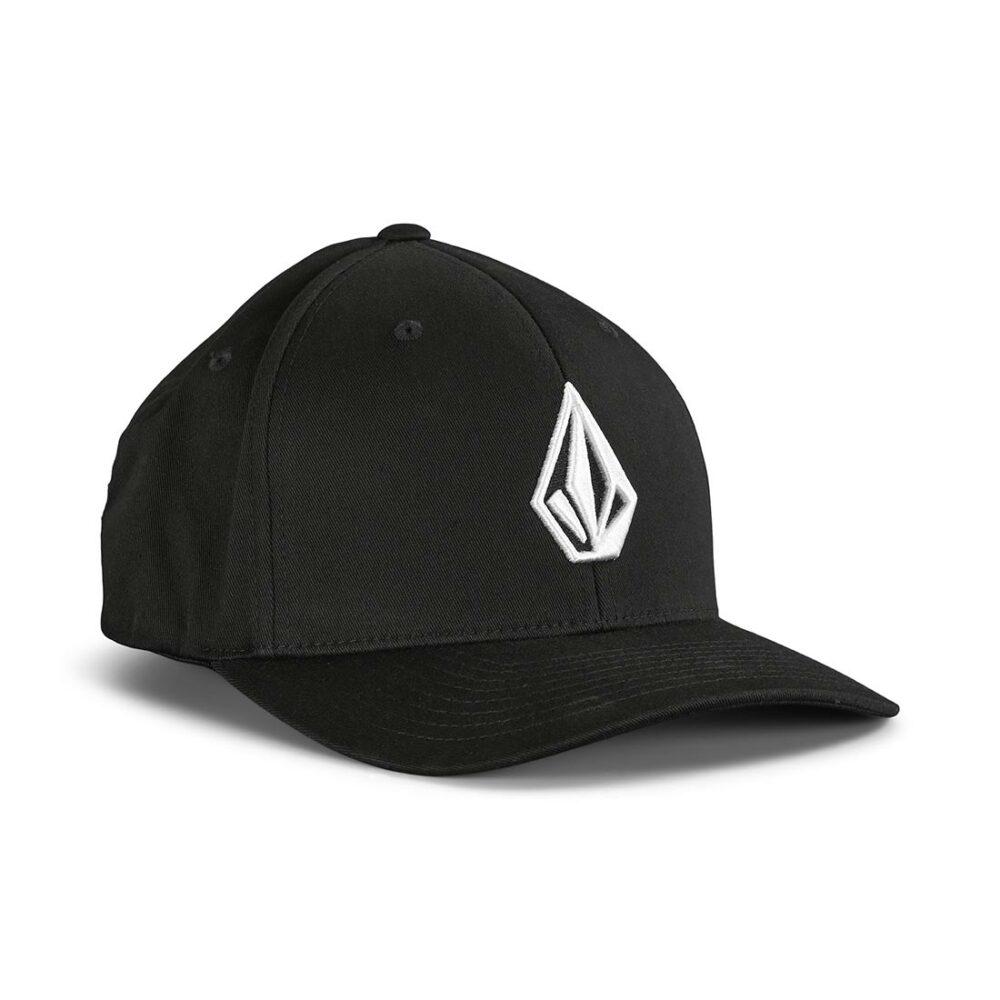 Volcom Stone Recycled XFit Cap - Black