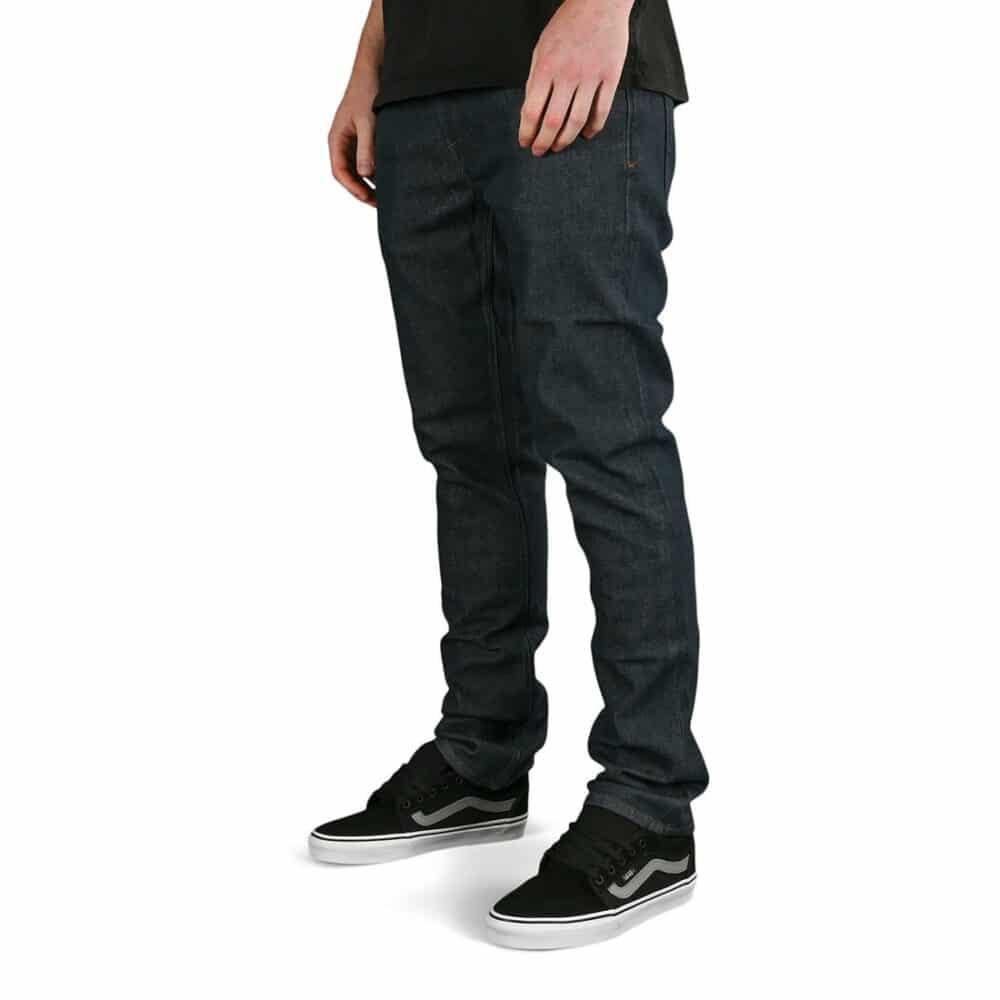 Volcom Vorta Denim Jeans - Grey Indigo Rinse