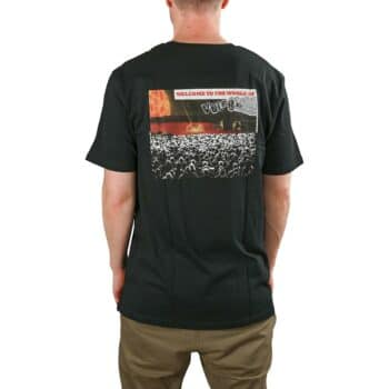 Volcom Worlds Collide BSC S/S T-Shirt - Black