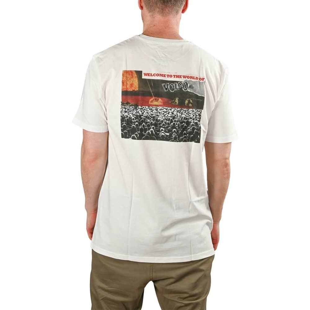 Volcom Worlds Collide BSC S/S T-Shirt - White