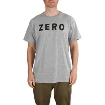 Zero Army S/S T-Shirt - Heather Grey