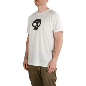Zero Single Skull S/S T-Shirt - White/Black