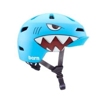 Bern Nino 2.0 MIPS Flip Visor Youth Helmet - Matte Shark Bite