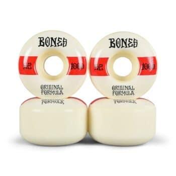 Bones 100's #14 V4 Wide 52mm Skateboard Wheels