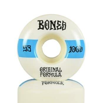 Bones 100's #14 V4 Wide 53mm Skateboard Wheels