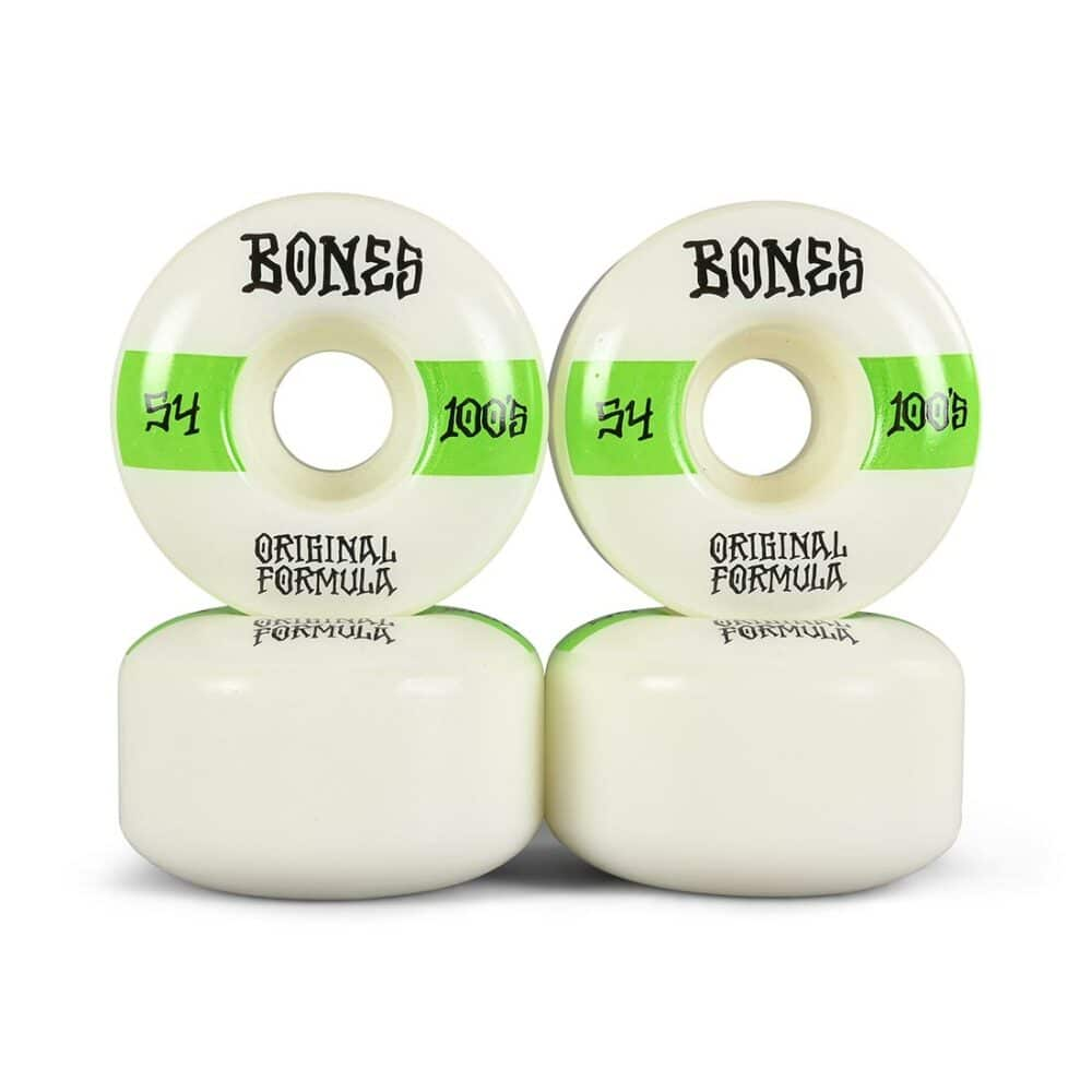 Bones 100's #14 V4 Wide 54mm Skateboard Wheels