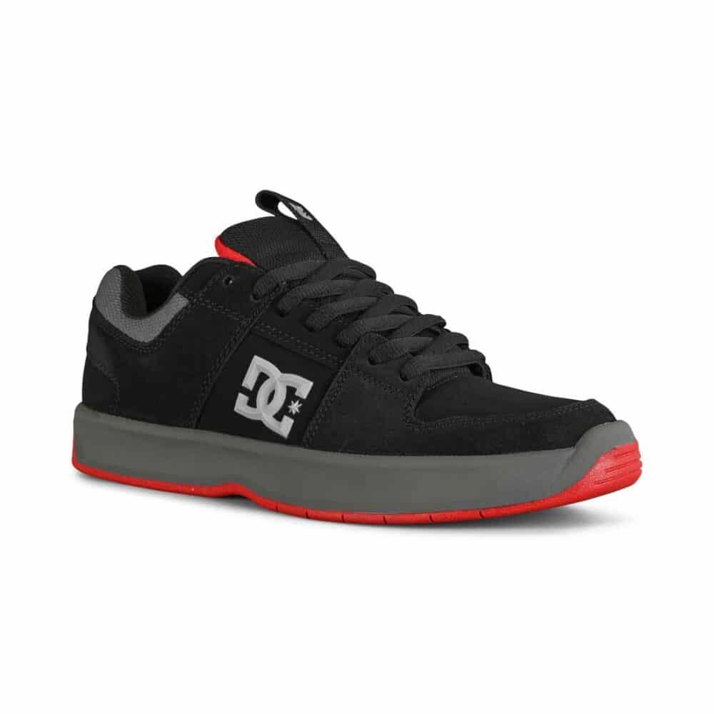 DC Lynx Zero Skate Shoes - Black/Grey/Red