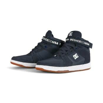 DC Pensford High-Top Shoes - Navy/White