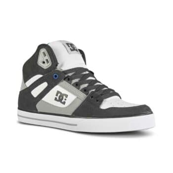 DC Pure High Top WC Shoes - Grey/White/Blue