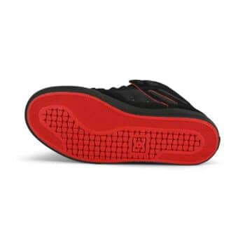 DC Pure High Top WC Shoes - Black/Red/White