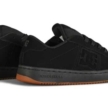 DC Striker Low Top Skate Shoes - Black/Black/Gum