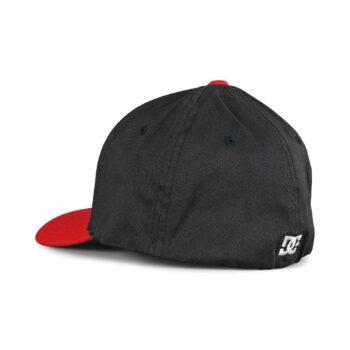 DC Cap Star Seasonal Flexfit Cap - Navy Blazer/Red
