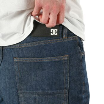 DC Shoes Worker Relaxed Jeans - Dark Stone