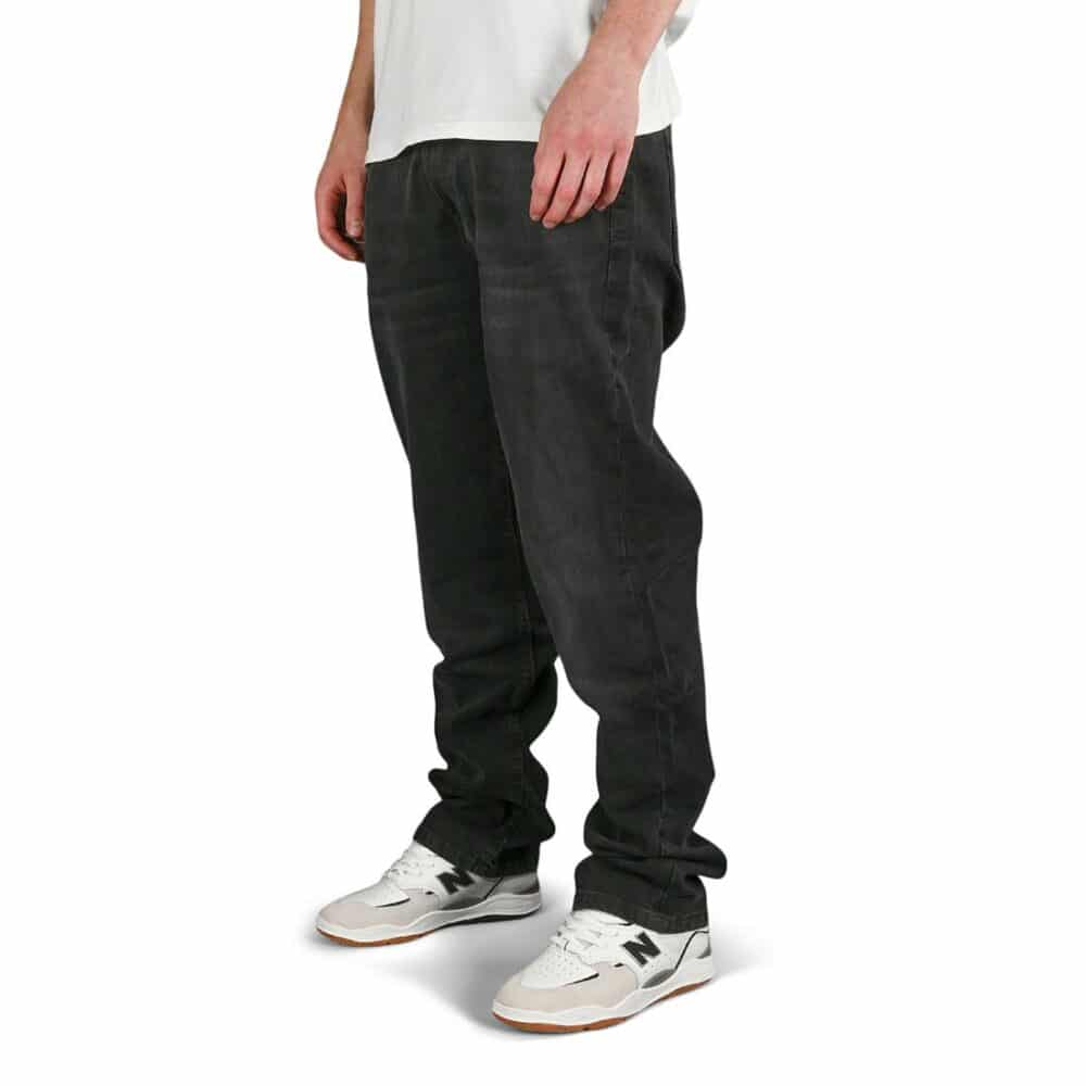 DC Worker Relaxed Jeans - Dark Grey