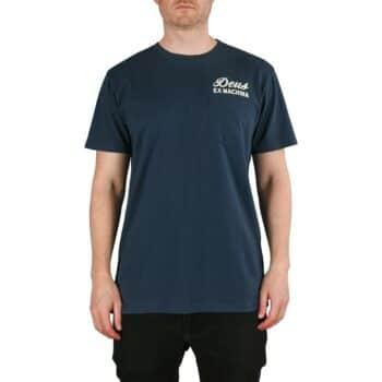 Deus Ex Machina Biarritz Address S/S T-Shirt - Navy