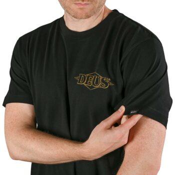 Deus Ex Machina Bummer S/S T-Shirt - Black