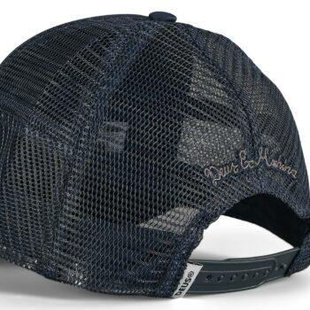 Deus Ex Machina Fleece Shield Trucker Cap - Midnight Blue