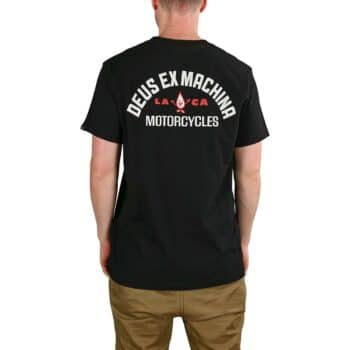 Deus Ex Machina Grease Monkey S/S T-Shirt - Black