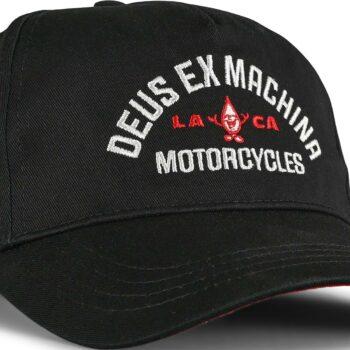 Deus Ex Machina Grease Monkey Trucker Cap - Black