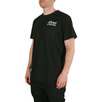 Deus Ex Machina Milan Address S/S T-Shirt - Black