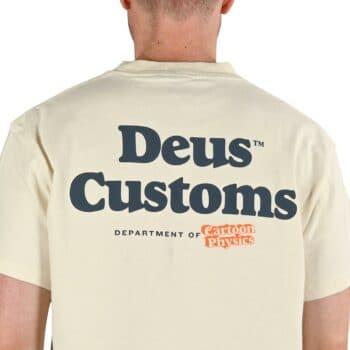 Deus Ex Machina Physics S/S T-Shirt - Vintage White