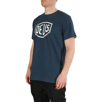 Deus Ex Machina Shield S/S T-Shirt - Navy
