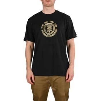 Element Landscape Camo S/S T-Shirt - Flint Black