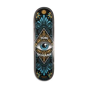 """Element x Timber Third Eye Schaar 8.5"""" Skateboard Deck"""