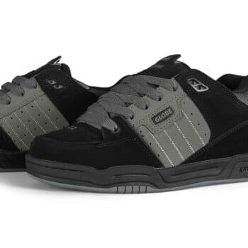 Globe Fusion Skate Shoes - Black/Charcoal Split