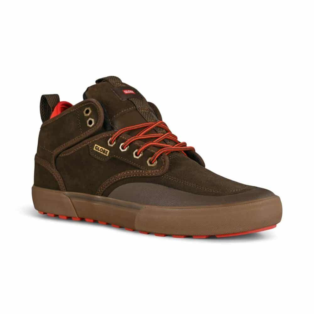 Globe Motley Mid Winterised Shoes - Brown/Summit