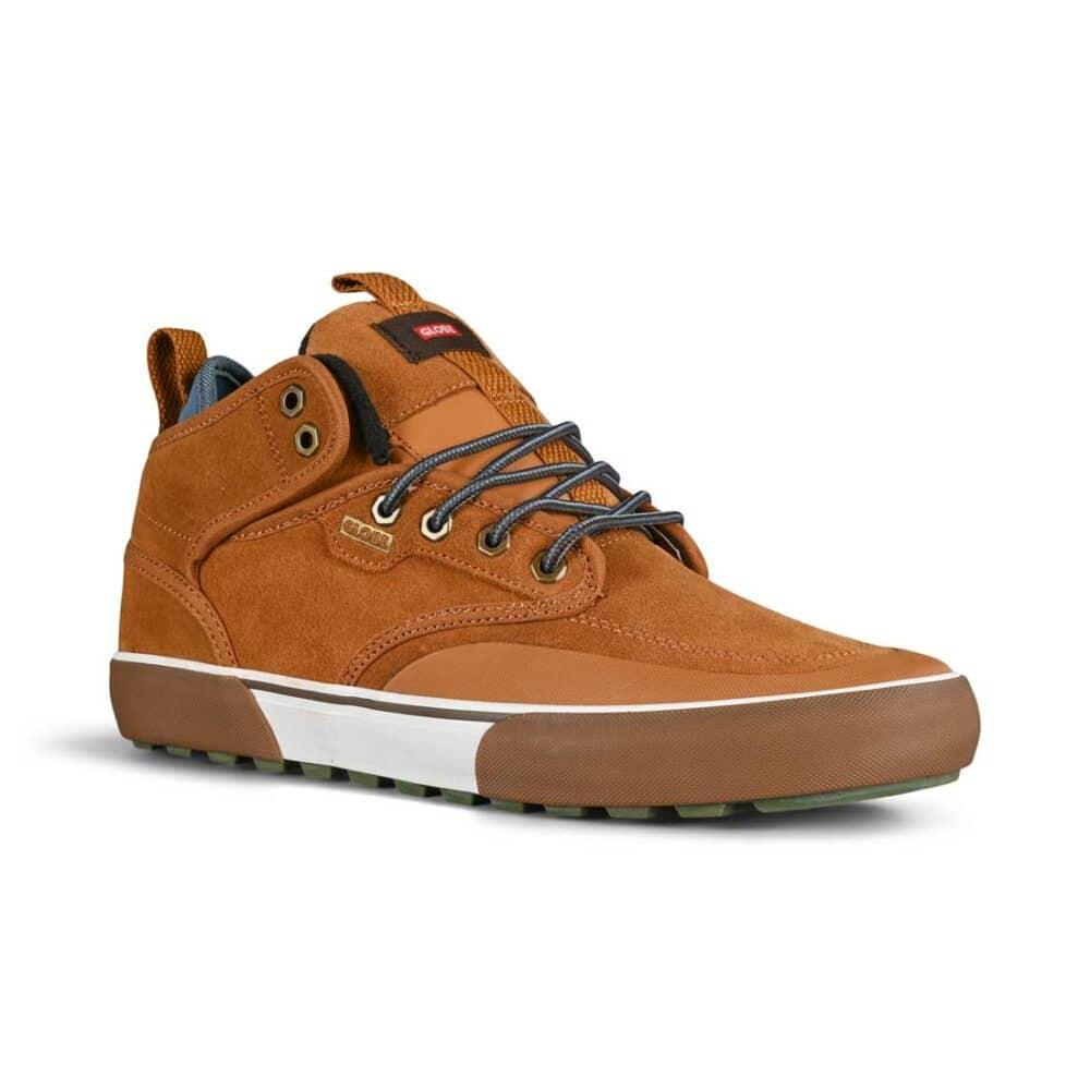 Globe Motley Mid Winterised Shoes - Caramello/Summit