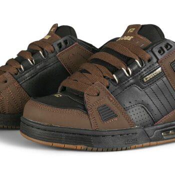 Globe Sabre Skate Shoes - Black/Brown