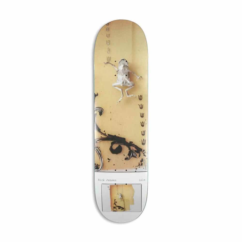"Isle x Milo Brennan Artist Series Nick Jenson Pro 8.125"" Skateboard Deck"