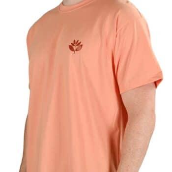 Magenta Classic Plant S/S T-Shirt - Salmon